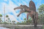 Spinosaurus and Ouranosaurus