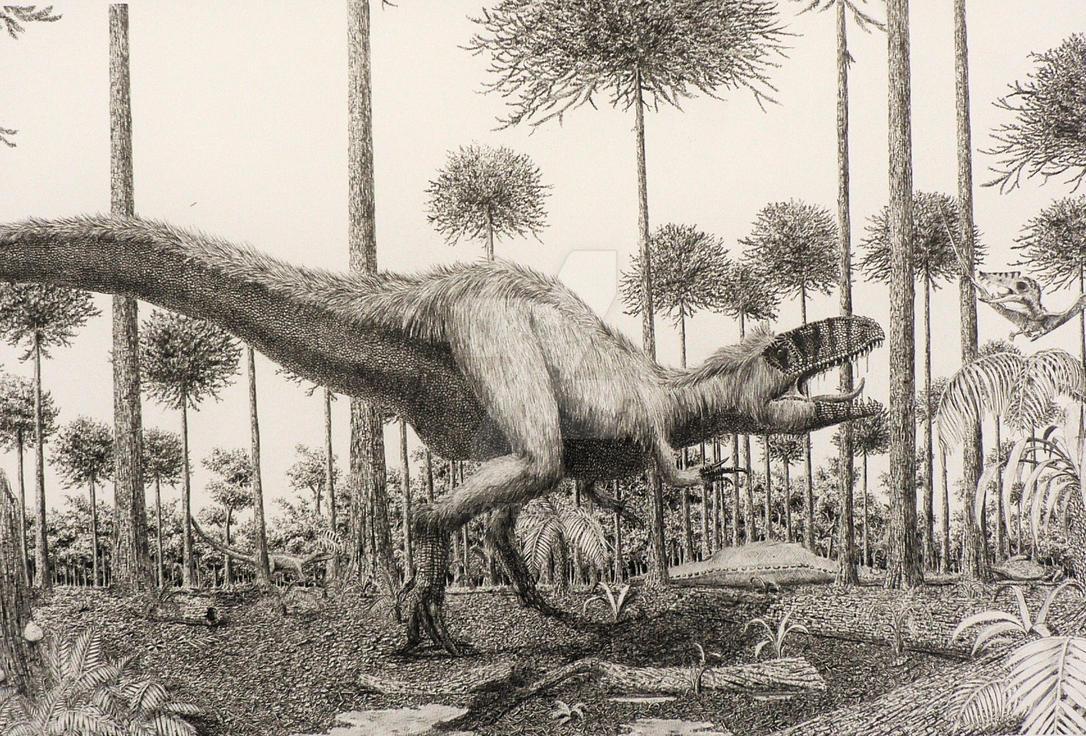 Sinraptor. by Frank-Lode