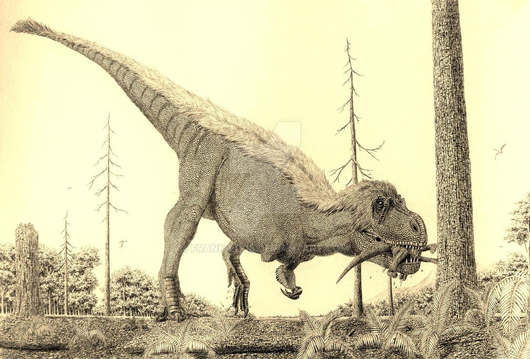 Dryptosaurus. by Frank-Lode