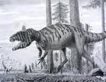 Cryolophosaurus.