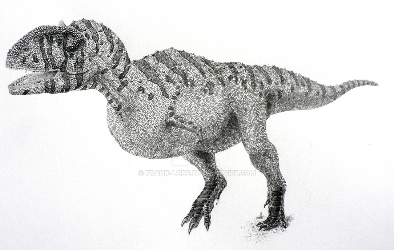 Majungasaurus by Frank-Lode