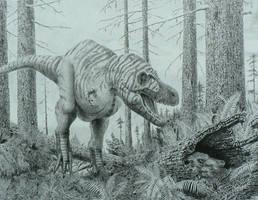 Nanuqsaurus. by Frank-Lode