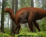 Hadrosaurus foulkii.