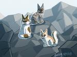 Tribe High Ranks by BunnyDrawsCats
