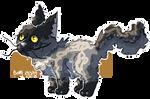 Sheddedkit by BunnyDrawsCats