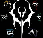 Kain and his Sons - Symbols