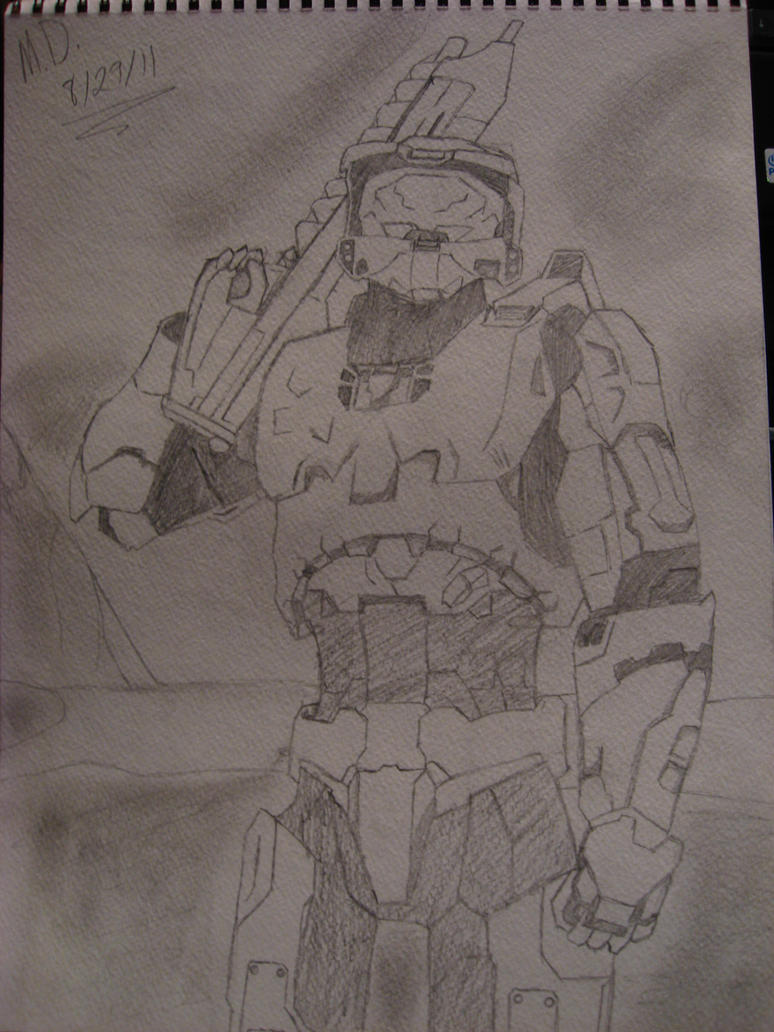 The Master Chief by MasterChief398