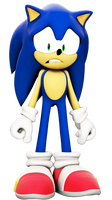 Scared Sonic 2 (SFM render)