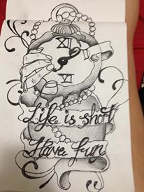 life is short have fun by Give-Into-The-Night