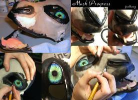 Mask Progress 2 by pattasy