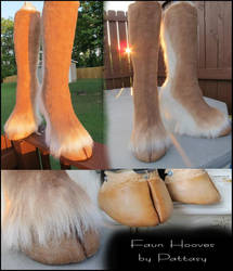 Faun hooves hoof boots by pattasy