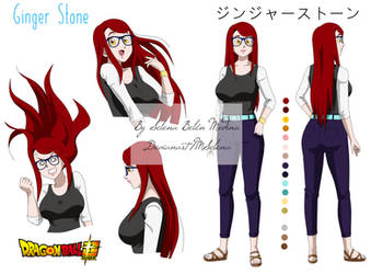 Ginger Stone Oc by Mselena