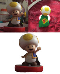 Super Toad Amiibo