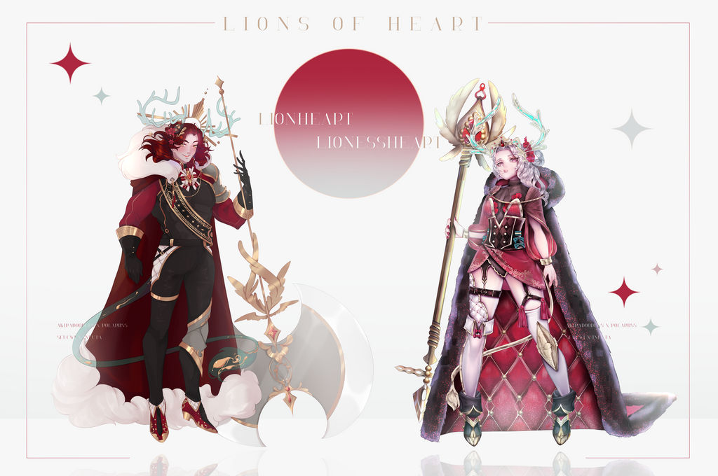 {Open Fragilius Collab } - Lions of the heart