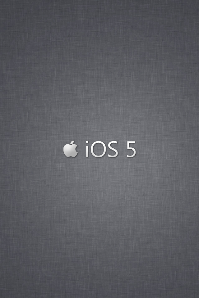iOS 5 iPhone 4S Wallpapers by Janaka86