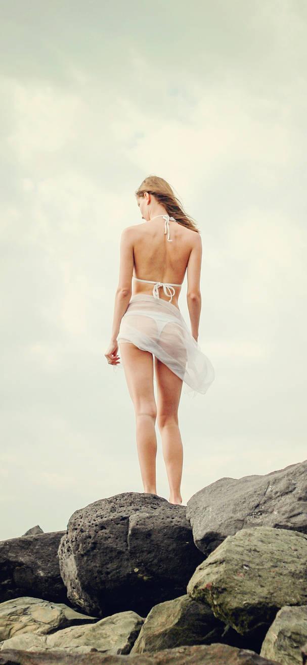 Summer Sexy Bikini Girl Sea Iphone X Wallpaper By Janaka86