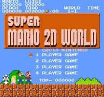 Super Mario 2D World by jotaauvei