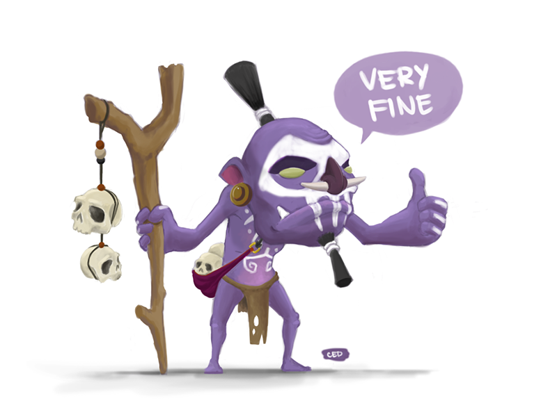 witch doctor by cedalcalde on deviantart