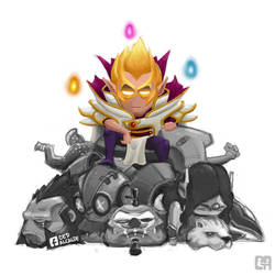 Miracle Invoker by cedalcalde