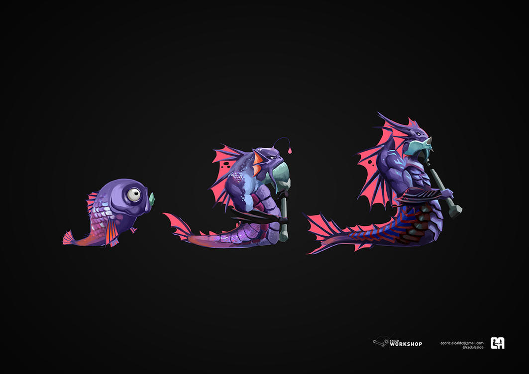slardar evolution by cedalcalde on deviantart