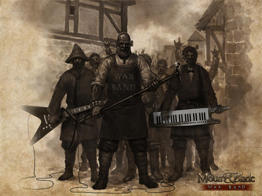 Fotomontage-War Band by petr-bukovjan