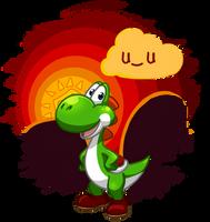 Hey Yoshi by Purrclops