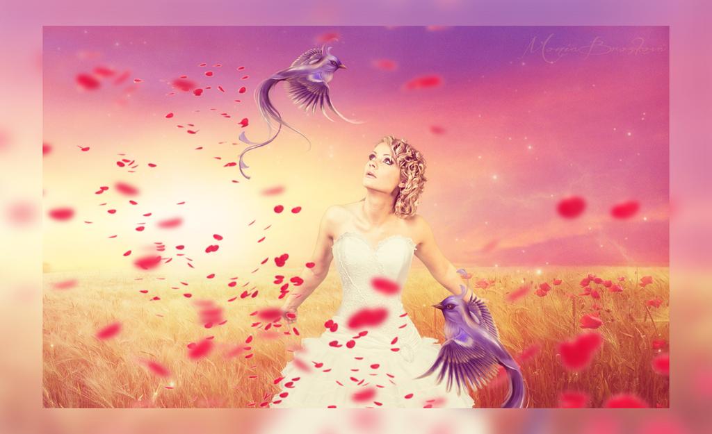 Bird lady... by moniabrozkova