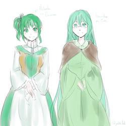 Michaela and Gumillia? by Matryoshka-Ruth