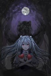 [E.C.] Moonlit Bear by Matryoshka-Ruth