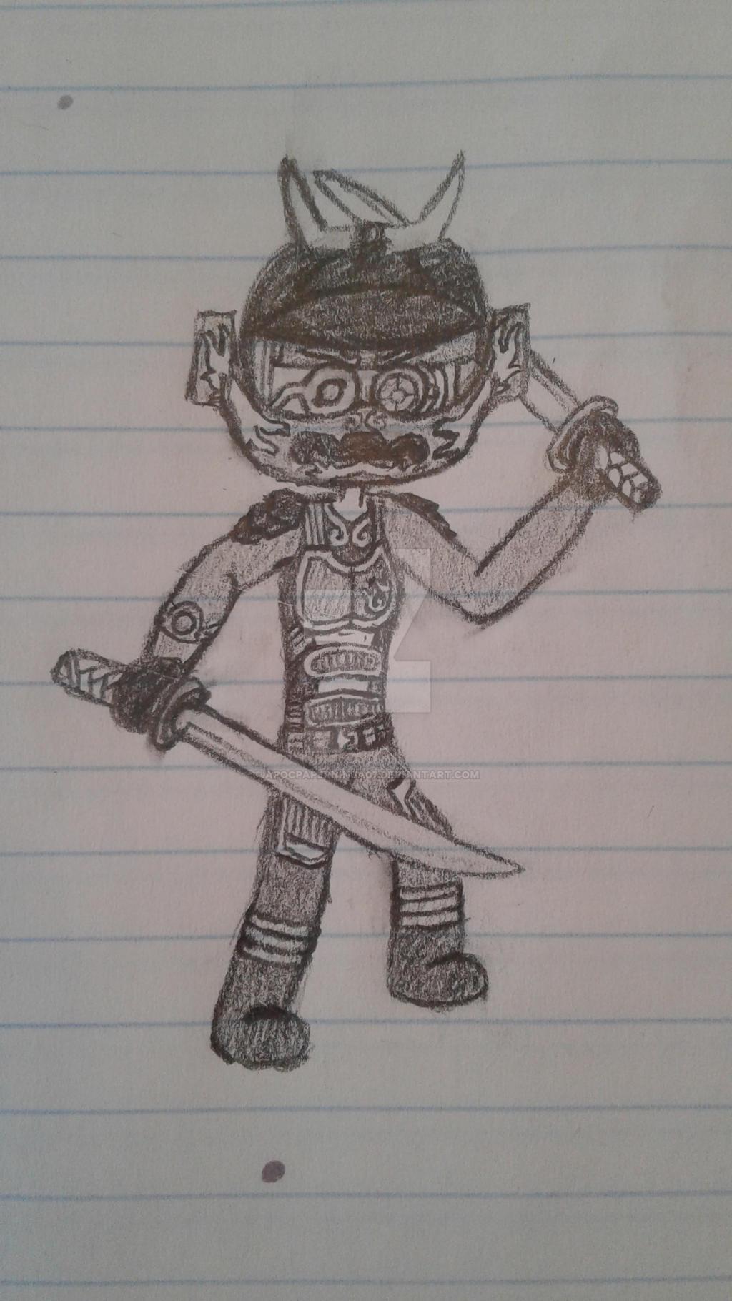 Samurai X doodle by Ninja--7