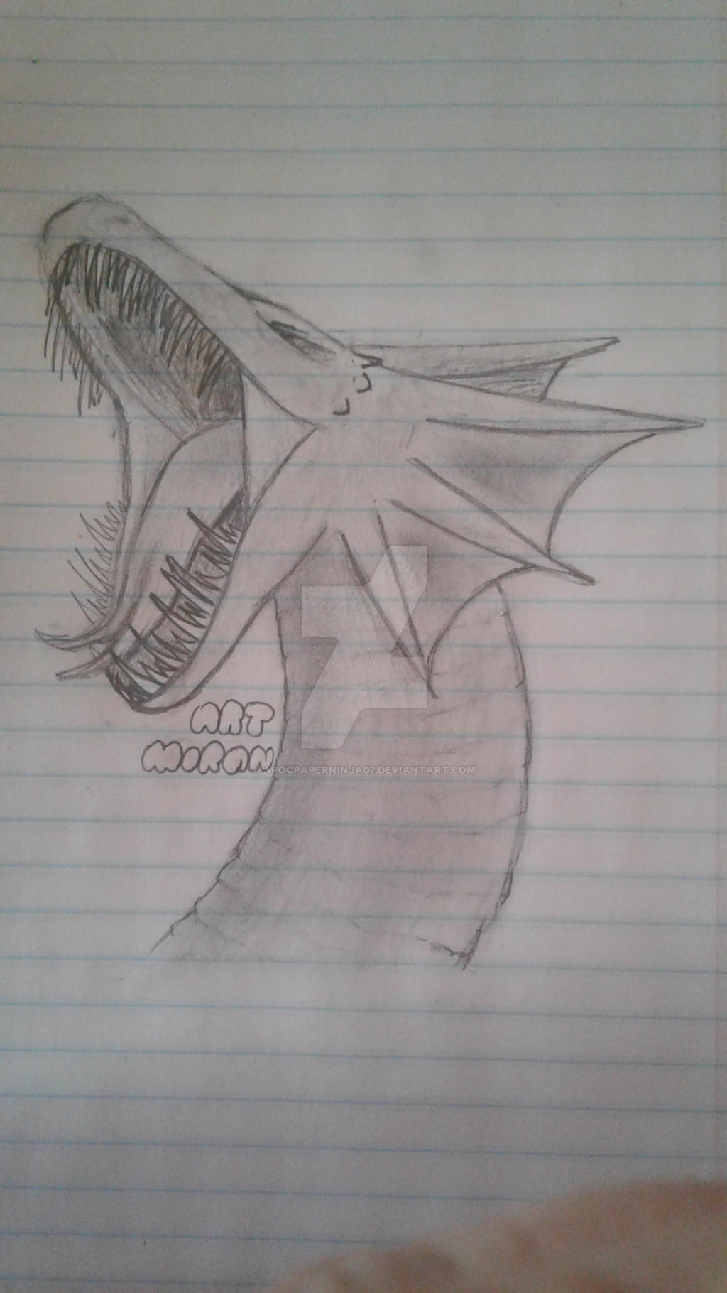 Sea dragon by Ninja--7