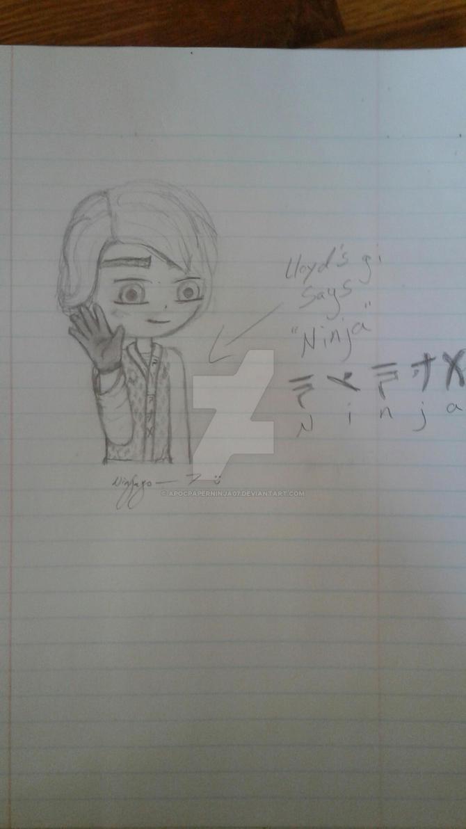 Lloyd 2018 doodle by Ninja--7