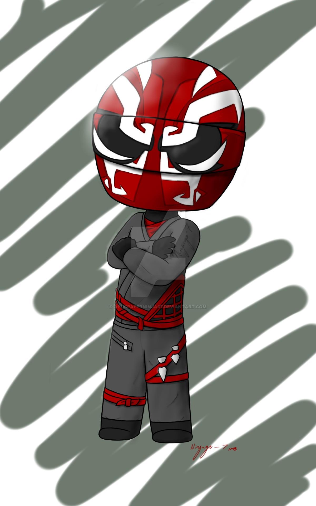Red SoG biker by Ninja--7