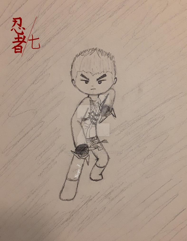 Zane doodle by Ninja--7