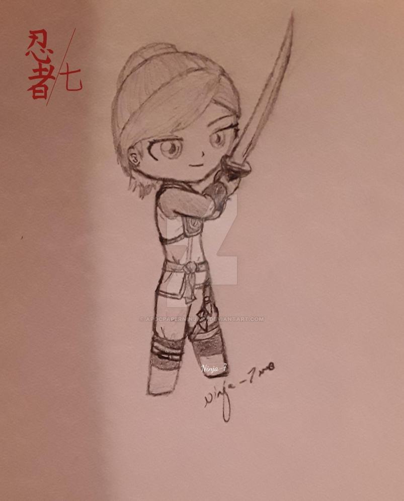 Skylor doodle by Ninjago-7