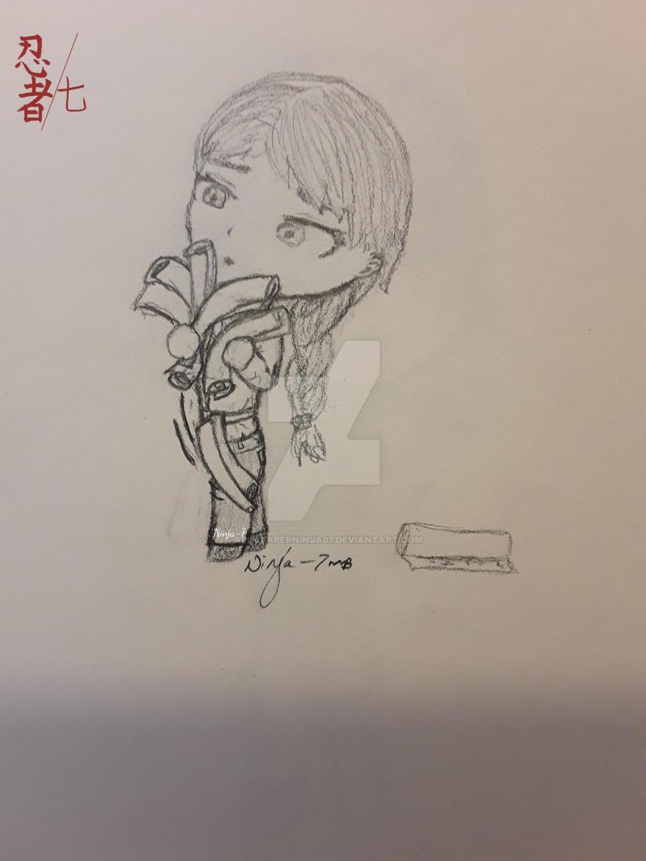 Young Misako doodle by Ninja--7