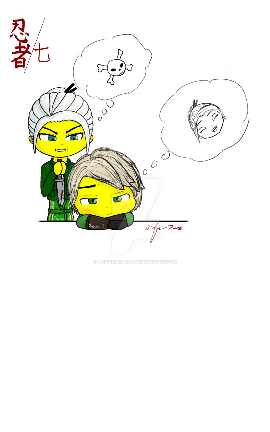 Harumi and Lloyd (request) by Ninja--7