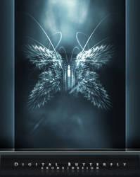 Digital Butterfly by ar0ne