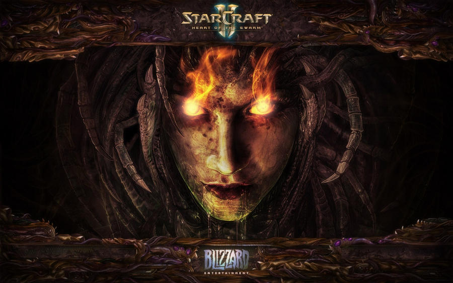Starcraft II Heart of the Swarm Wallpaper by Onikage108