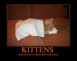 Sleeping Kitten by Onikage108