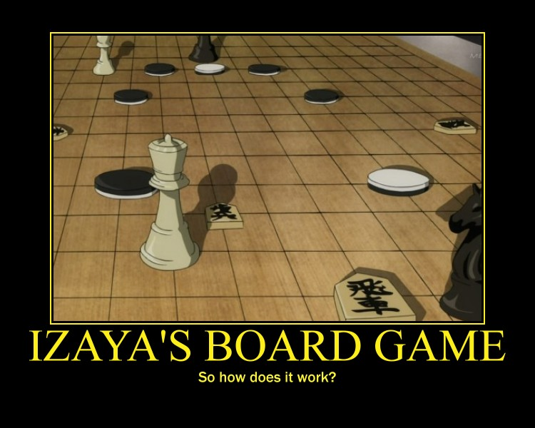 Durarara Izaya Orihara Board Game by Onikage108 on DeviantArt Funny Games Mahjong