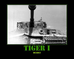 WWII Tiger I Tank by Onikage108