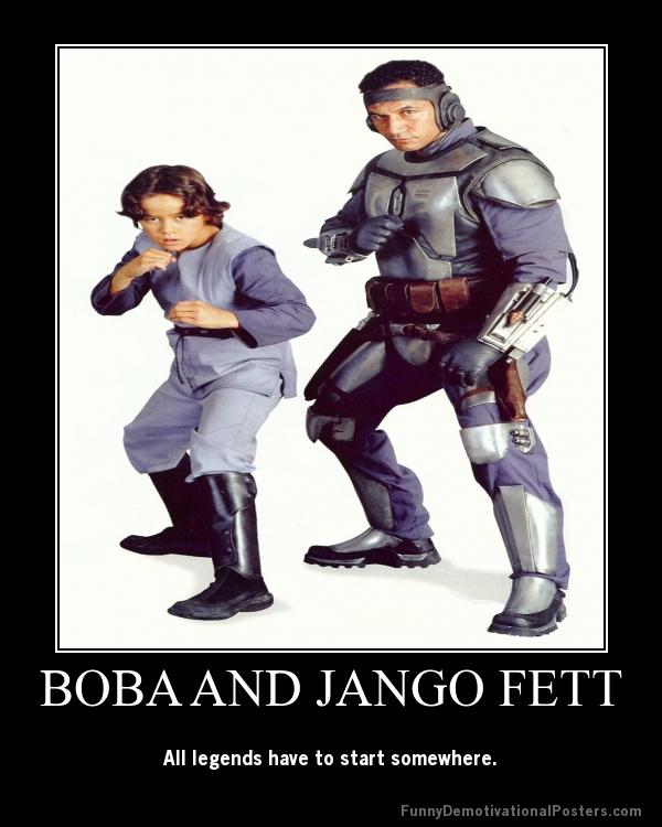 Boba and Jango Fett by Onikage108