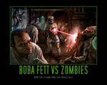 Boba Fett vs Zombies
