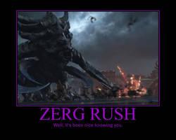 Starcraft II Heart of the Swarm Zerg Rush by Onikage108