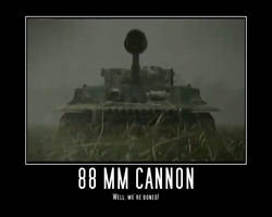 Tiger I 88 MM Cannon by Onikage108