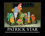 Patrick Star Stuck in the Trombone