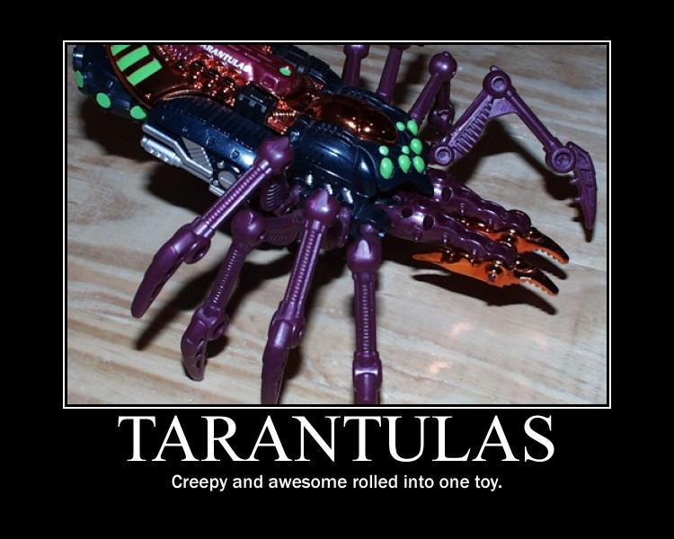 Beast Wars Transmetal Tarantulas by Onikage108