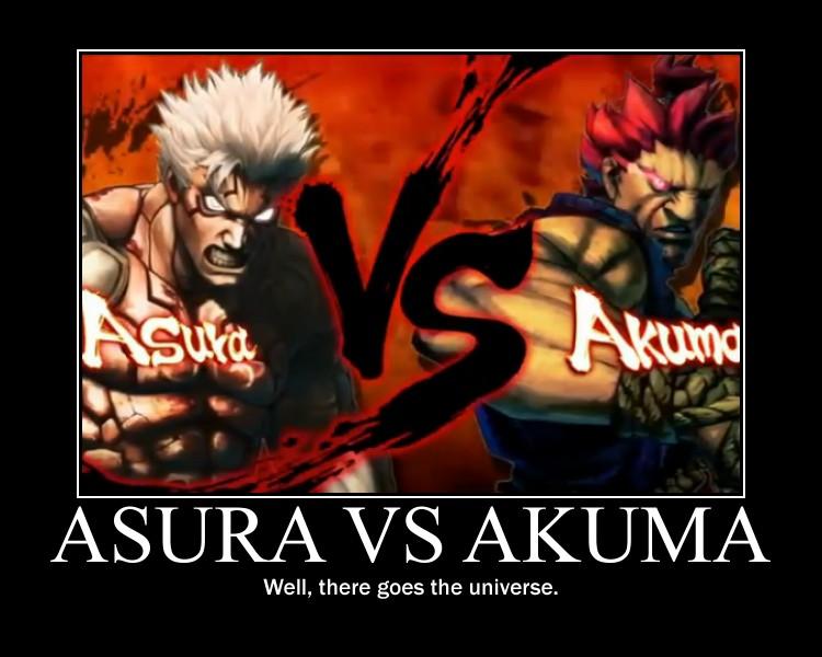 Asura vs Akuma by Onikage108