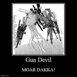 Chainsaw Man's Gun Devil (SPOILERS)